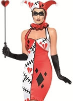 Adult Jester of Broken Hearts Costume