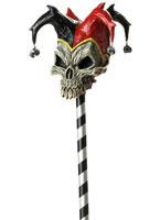 Adult Jester Skull Cane [60370]