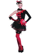 Ladies Jesterina Costume [996205]