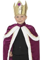 Child Kiddy King Childrens Costume