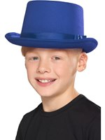 Kids Blue Top Hat [48825]