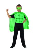Kids Green Superhero Kit