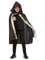 Kids Hooded Wizard Cape [52513]