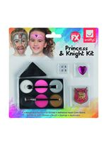 Kids Princess and Knight Makeup Kit