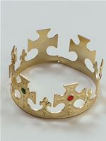 Adult Gold Kings Crown