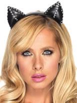 Adult Kitty Ear Headband [A1921]