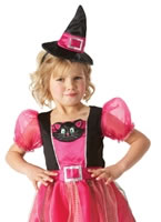 Kitty Witch Childrens Costume