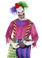 Adult Kolorful Killer Clown Costume [21623]