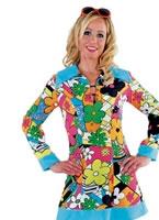 Adult Ladies 60's Hippy Costume
