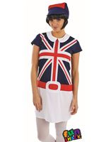 Ladies 60's Mod Girl Costume