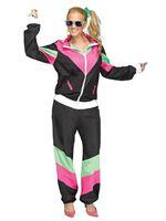 Ladies 80's Track Suit Costume