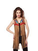 Ladies American Indian Waistcoat [AF030]