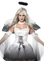 Ladies Angel of Darkness Costume