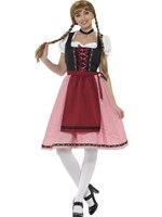 Ladies Bavarian Tavern Maid Costume