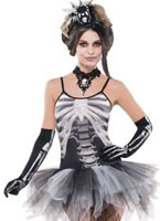 Ladies Bones Skeleton Costume [996974]