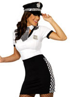 Adult Ladies Cop Costume