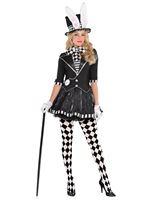 Adult Dark Mad Hatter Costume [847836-55]