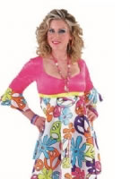 Adult Ladies Deluxe 60s Magic Peace Costume