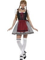 Ladies Flirty Fraulein Bavarian Costume