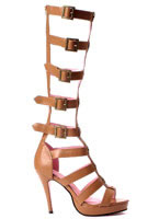 Ladies Gladiator Knee High Sandal [5021-ROMA]