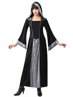 Adult Gothic Hooded Velvet Cloak [AC817]
