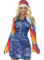 Ladies Groovier Dancer Costume
