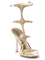 Ladies Jeweled Sandals