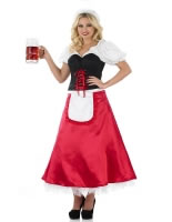 Adult Bavarian Lady Oktoberfest Costume