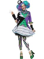 Ladies Mad Hatter Costume [3258A]