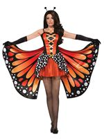 Ladies Miss Monarch Butterfly Costume [AC78464]