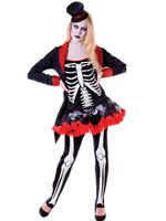 Adult Mrs Bone Jangles Costume