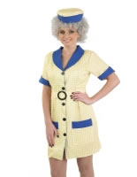 Adult Hi De Hi Peggy Cleaner Costume [FS3654]