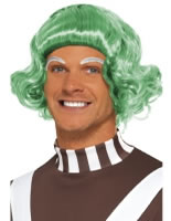 Adult Mens Oompa Loompa Wig