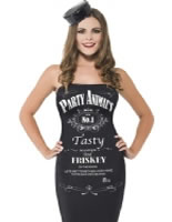 Ladies Party Animal Jack Daniels Drink Up Costume [43993]