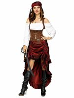 Ladies Pirate Queen Costume [3250A]