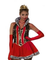 Adult Ladies Sexy Queen Costume