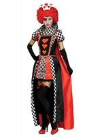 Ladies Queen Of Hearts Costume [3324A]