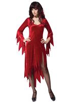 Adult Red Siren Dress Costume
