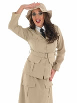 Ladies Safari Explorer Costume [FS3250]