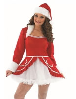 Adult Ladies Santa Baby Costume
