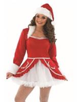 Adult Ladies Santa Baby Costume [FS3611]
