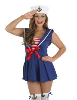 Adult Sexy Sailor Girl Costume