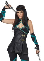 Adult Ladies Sexy Ninja Costume
