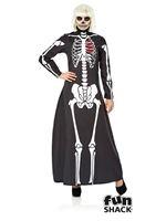 Ladies Skeleton Dress