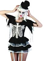 Adult Skeleton Lady Costume