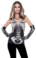 Ladie's Skeleton Tank Top [840967-55]
