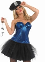 Ladies Tutu Cop Costume [FS3364]
