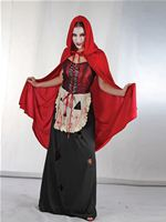Adult Wicked Red Riding Hood Costume [AC147]