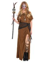 Ladies Witch Doctor Dress