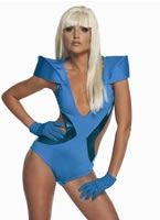 Adult Lady GaGa Poker Face Swimsuit Costume [889959]